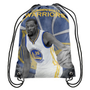 Golden State Warriors Official NBA Player Image Drawstring Backpack Gym Bag - Kevin Durant #35