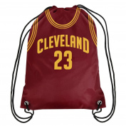 Cleveland Cavaliers Official NBA Drawstring Backpack Gym Bag - Lebron James