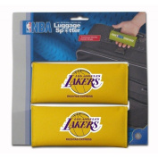 LA Lakers Original Patented Luggage Spotter® Luggage Locator / Handle Grip / Luggage Grip / Travel Bag Tag / Luggage Handle Wrap (2 PACK) – Best Selling Luggage Wrap! Great Gift For Any Occasion! CLOSEOUT!