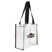 NBA Cleveland Cavaliers Square Stadium Tote, 11.5 x 14cm x 29cm , Clear