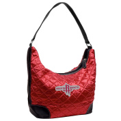 NBA Houston Rockets Team Colour Quilted Hobo