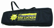 HT Enterprise RL-2 Rod Combo Locker Holds 2 Combos with Lure Pouch, Black