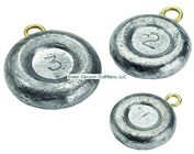Bullet Weights Disc Fishing Sinker (8-Pack), 60ml