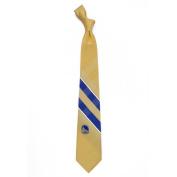 Golden State Warriors Grid Poly Necktie