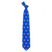 New York NY Knicks Silk Necktie - Printed Mens Silk Tie
