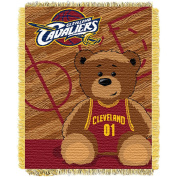 The Northwest Company Cleveland Cavaliers Half-Court Baby Woven Jacquard Throw