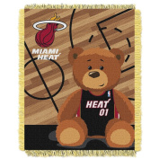 The Northwest Company Miami Heat Half-Court Baby Woven Jacquard Throw