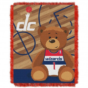 The Northwest Company Washington Wizards Half-Court Baby Woven Jacquard Throw