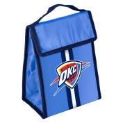 NBA Oklahoma City Thunder Unisex Hook and loop Lunch Bag, One Size