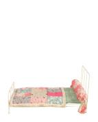 Maileg Medium White Metal Bed and Bedding