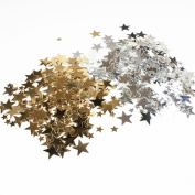 Craft Star Sequins Crafts Silver Gold 400 pcs Cardmaking