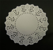 White 11cm Paper Doilies - Pack of 250
