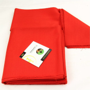 Hainsworth ELITE PRO Bed & Cushion Set for 2.1m UK Pool Table - BRIGHT RED