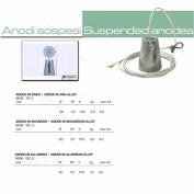 tecnoseal-anodo Suspended Zinc Magnesium Zinc Aluminium Model: TEC.1 mm: 80 1 mm: 53 H cm: 105 kg