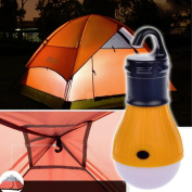 HuntGold New 3 LED Portable Outdoor Hanging Camping Tent Light Bulb Torch Fishing Lantern