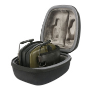 for Howard Leight Impact Sport OD Electronic Folding Stereo Earmuff EVA Hard Storage Travel Carrying Case Bag by co2CREA