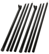 Andes Set Of 2 Universal Telescopic Adjustable Steel Tent/Awning Poles 180-220cm