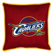 Cleveland Cavaliers SIDELINES Jersey Material Toss Pillow