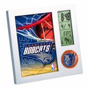 NBA Charlotte Bobcats Digital Desk Clock