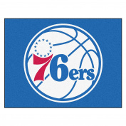 FANMATS 19467 90cm x 110cm Team Colour NBA - Philadelphia 76ers All-Star Mat