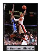 Encore Select 512-25 NBA Portland Trail Blazers Damian Lillard Logo Plaque, 23cm by 30cm