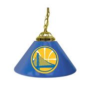 NBA Golden State Warriors Single Shade Gameroom Lamp, 36cm
