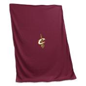 NBA Cleveland Cavaliers Unisex Sweatshirt Blanket, Cardinal, N/A
