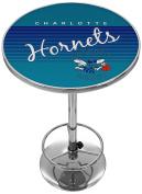 NBA Charlotte Hornets Chrome Pub Table, One Size, Chrome