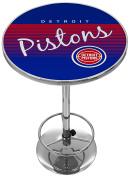 NBA Detroit Pistons Chrome Pub Table, One Size, Chrome