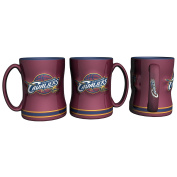 Cleveland Cavaliers Coffee Mug - 410ml Sculpted Relief