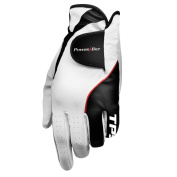 Powerbilt TPS Cabretta Tour Golf Glove - Mens RH Extra Large, White