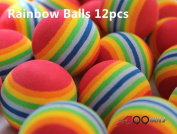 A99 Golf Rainbow Foam Ball Practise 12 Pcs -  .