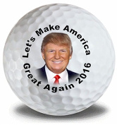 Trump Make America Great Golf Balls 3 Pack