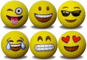Emoji Golf Balls 6 pack #1