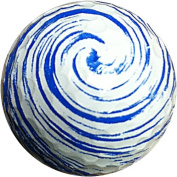GBM Golf Miscellaneous Novelty 3 Ball Sleeve, Blue Swirl
