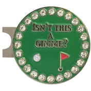 Giggle Golf Bling Isn't This A Gimme Golf Ball Marker With A Standard Hat Clip