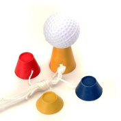 Pixnor 4Pcs Jumbo Rubber Winter Golf Tees Ideal for Frosty Days