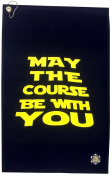 Giggle Golf May The Course Be With You Golf Towel & Poker Chip