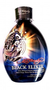 Ed Hardy Black Elixir Indoor Tanning Bed Lotion Bronzer w/ Tattoo Protection 13.5 Oz/ 400 Ml