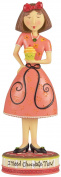 Carson Home Accents 19838 Chocolate Now Dan Dipole Resin Figurine, 18cm