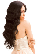 New Born Free Human Hair Blend Lace Front Wig Magic Lace U-Shape Lace Wig MLUH94