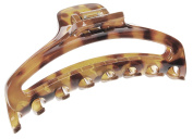 France Luxe Belle Large Narrow Cutout Curve Jaw - Tokyo Amber