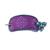Tamarusan Hairpin Barrette Hair Clip Ornament Dumpling Hair Blue Handmade