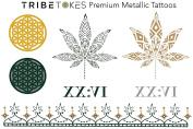 Herb Temporary Tattoos