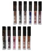 12pcs Italia Deluxe Miss Metal Metallic Lip Creme Lip Gloss