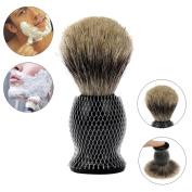 Hunputa Gentleman's 100% Pure Badger Hair Shaving Brush. Enhance Your Shave with the Best Brush and get a Good Shaving Mug Shaving Razor