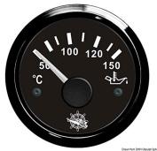 Osculati 27.320.09 - Oil temperature gauge 50/150° black/black
