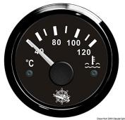 Osculati 27.320.08 - Water temperature gauge 40/120° black/black
