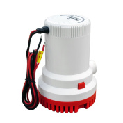ECO-WORTHY Marine Bilge Submersible Sump Pump 2000 GPH 12V 29mm ID Hose Silent Complete submersible