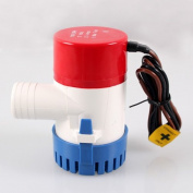 Bilge Pump 12V Boat/Marine Bilge Pump 1100GPH Submersible Water Pump Yacht